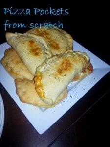 DIY Pizza Pockets. #easy #freezerfriendly #yummy #basicingredients #budgetfriendly
