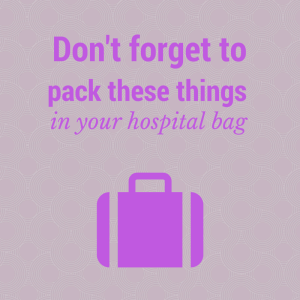Time to pack for when baby comes?? Don't forget these items that are on the top of my list!
