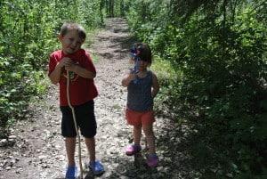 Family Camping Trip at Jarvis Bay Campground, Sylvan Lake