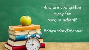How are you getting ready for back to school?