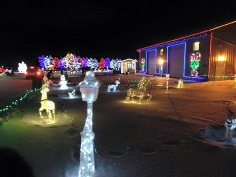 Leduc Christmas Lights