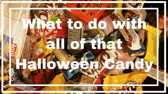 What to do with all of that Halloween Candy