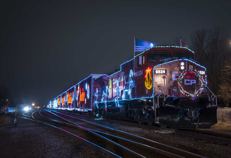 Where To See The Canadian Pacific Holiday Train Around Edmonton 2018