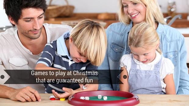 Games to play at Christmas