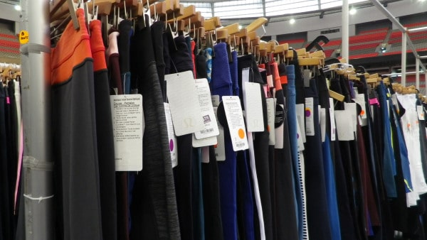 The Lululemon and Ivivva Warehouse Sale