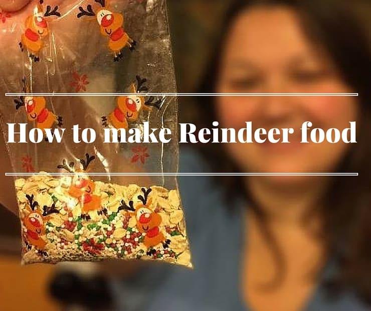 A fun DIY: How to make Reindeer food for Christmas eve