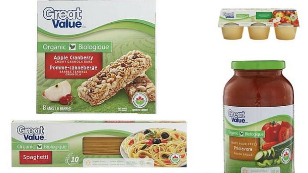 Walmart brand Organic line
