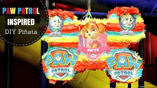 Paw Patrol Inspired Diy Pinata