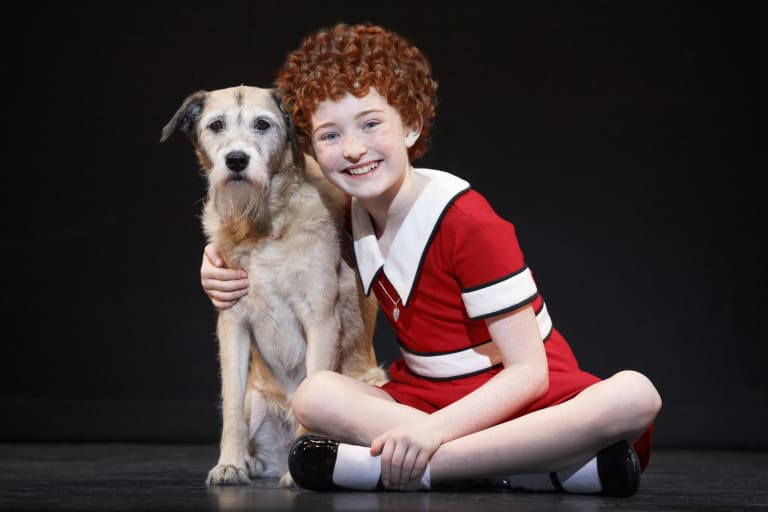 annie the musical list of scenes