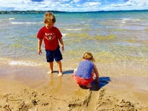 family friendly beaches in Alberta