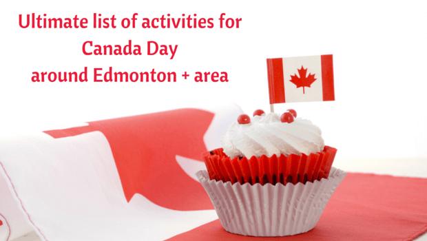 Canada day around Edmonton