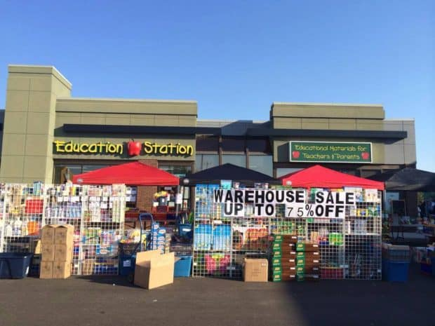 Education Station Warehouse Sale
