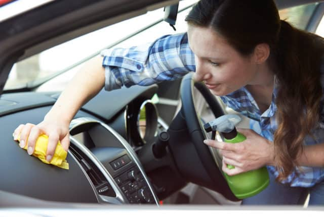 Keeping your vehicle clean with kids