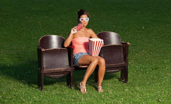 outdoor movies around Edmonton