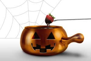 Register for the Kids Day Out Halloween party at The Melting Pot Oct 30th