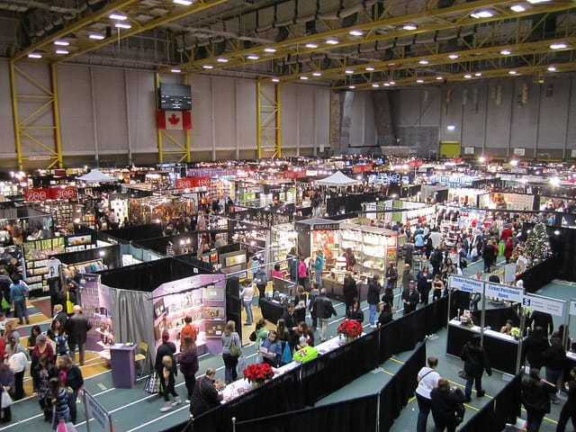 Christmas markets and crafts fairs around edmonton 2017 for Craft fairs near me november 2017