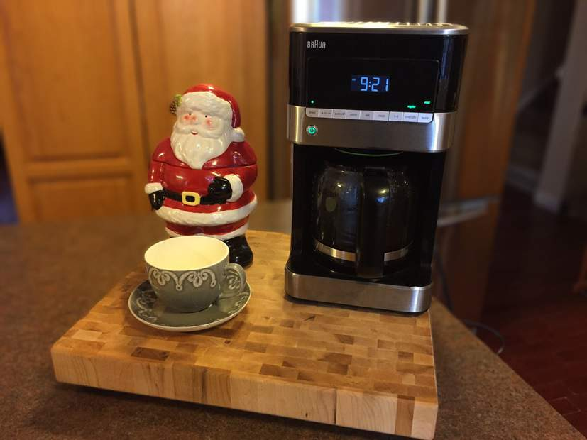 The perfect cup of coffee with the Braun BrewSense Drip Coffee Maker