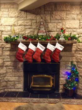 Christmas Mantle full picture