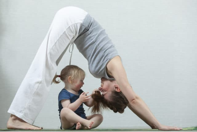 Toddler-friendly workout classes