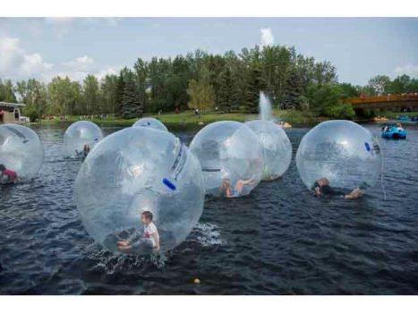 Bower Ponds Water Balls