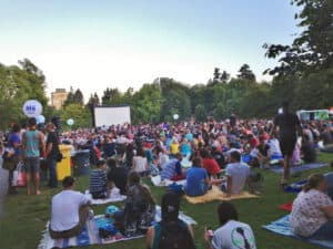 Outdoor Movies Around Edmonton