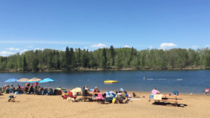 Day trips from Edmonton, Long Island Lake Campground
