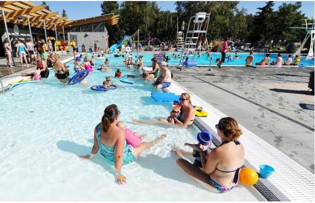 Edmonton Outdoor Pools