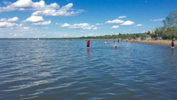 Ebeling Beach Gull Lake