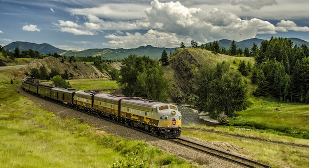 CP Canada 150 Train