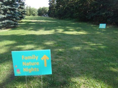Family Nature Nights Edmonton 2017