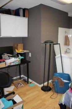 Before photo Perfectly Purged Organizing