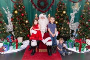 Santa Around Edmonton Toyota
