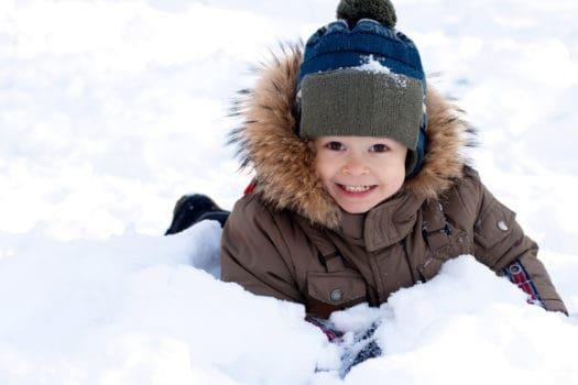 Winter Play Street Edmonton