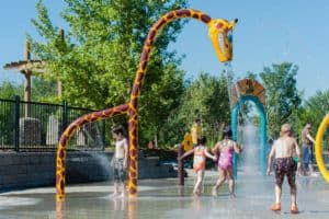These City of Edmonton Spray Parks Are Now Open