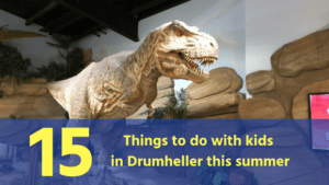 Kids in Drumheller