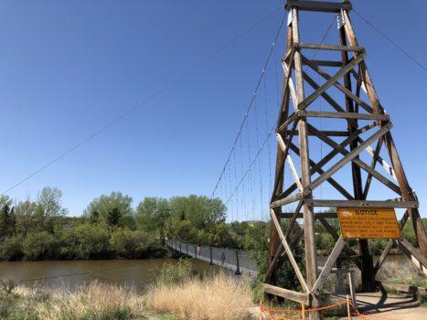 Suspension Bridge Drumheller