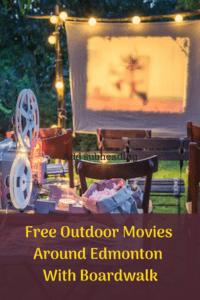 Boardwalk Outdoor Movie Nights