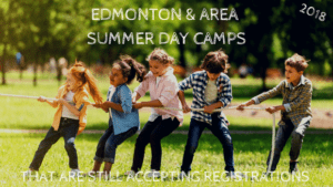 Edmonton & Area Summer Day Camps