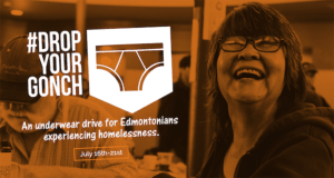 Drop Your Gonch Underwear Drive For Bissell Centre July 16-21