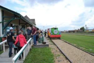 Friends of Thomas Day At The Camrose Heritage Railway Station Aug 4th