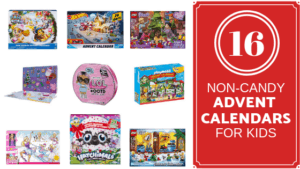 16 Awesome Non-Candy Advent Calendars For Kids This Christmas | 2018