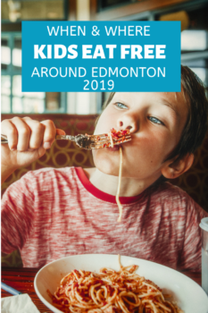 Kids Eat Free Around Edmonton