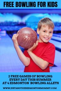 Kids Bowl Free Edmonton