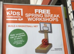 Free Spring Break Kids Workshops At Home Depot