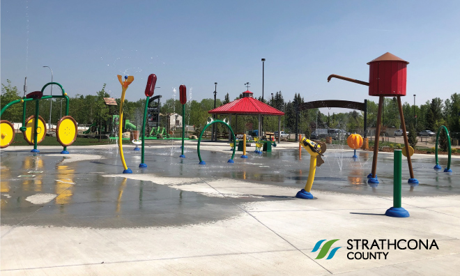 Ardrossan Agriculture Themed Spray Park & Playground