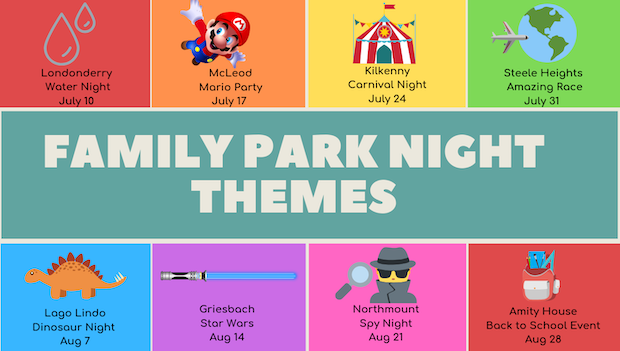 Free Family Park Nights